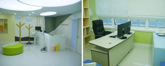 김성미소아청소년과 접수실진료실